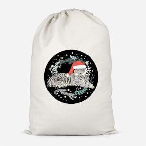 Tiger Christmas Santa Sack
