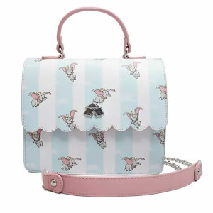 Loungefly Disney Dumbo Flying Aop Crossbody Bag