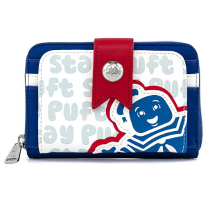 Loungefly Ghostbusters Stay Puft Zip Around Wallet