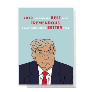 2020 Best Year Yet Greetings Card