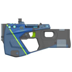 Borderlands 3 Replica Pistol