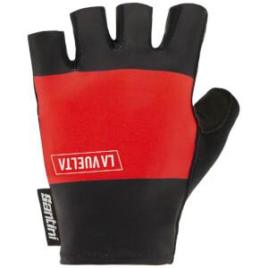 Santini La Vuelta 2020 Pamplona Gloves