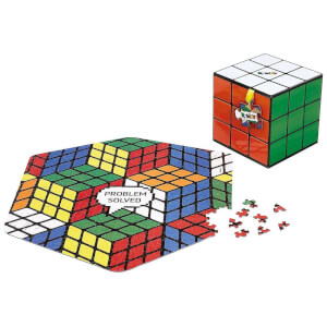 Rubik's Cube Jigsaw Puzzle - 500 Pieces