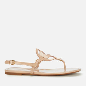 Coach Women's Jeri Leather Toe Post Sandals - Beechwood