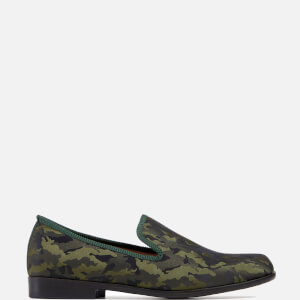 Duke + Dexter Men's Duke Jade Camo Loafers - Camo Green