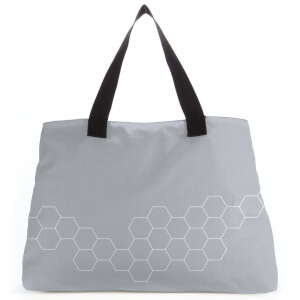 Beehive Grey Large Tote Bag