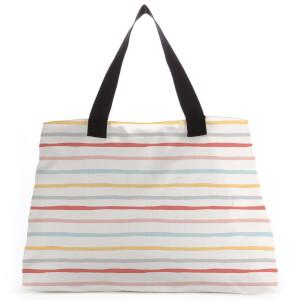 Stripes Large Tote Bag