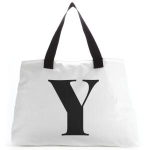 Y Large Tote Bag