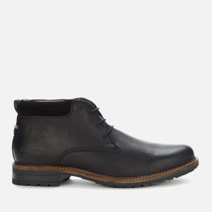 Barbour Men's Barnard Weatherproof Leather Chukka Boots - Black