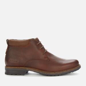 Barbour Men's Barnard Weatherproof Leather Chukka Boots - Teak