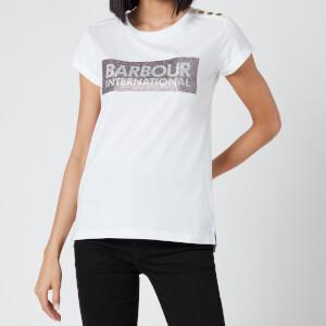 Barbour International Women's Burnout T-Shirt - White