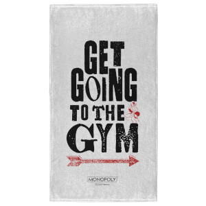 Monopoly Get Going To The Gym - Fitness Towel