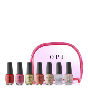 OPI 7 Piece Mexico City Nail Collection and Bag