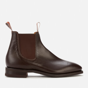 R.M. Williams Men's Comfort Craftsman Leather Chelsea Boots - Chestnut