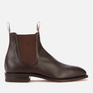 R.M. Williams Men's Classic Craftsman Leather Chelsea Boots - Chestnut