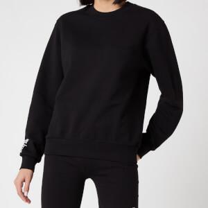 Les Girls Les Boys Women's Loopback Crew Neck Sweatshirt - Black