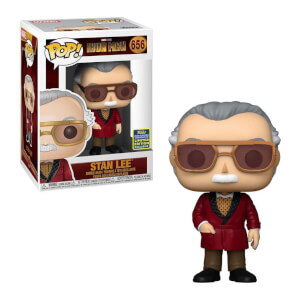Figura Funko Pop! Exclusivo SDCC20 - Stan Lee Cameo - Iron Man