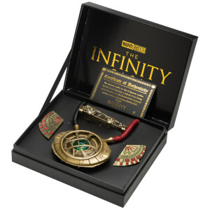 Marvel Doctor Strange Limited Edition Replica Set - Eye of Agamotto, Levitation Cloak Pins and Sling Ring (Worldwide Exclusive)