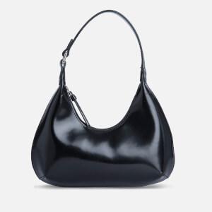 by FAR Women's Baby Amber Semi Patent Bag - Black
