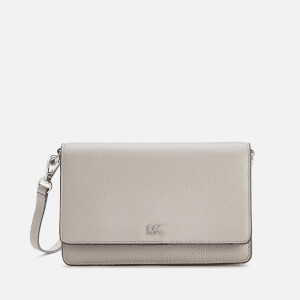 MICHAEL MICHAEL KORS Women's Mott Phone Cross Body Bag - Pearl Grey