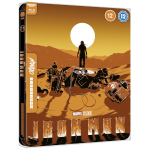 Marvel Studios' Iron Man - Mondo #44 Zavvi Exklusives 4K Ultra HD Steelbook (inkl. Blu-ray)