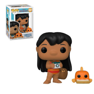 Disney Lilo&Stitch - Lilo Con Pudge Figura Funko Pop! Vinyl