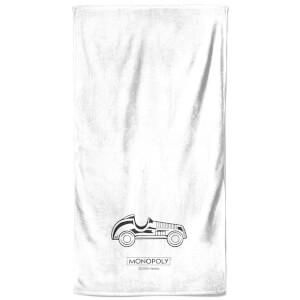 Monopoly Car Figure Bath Towel