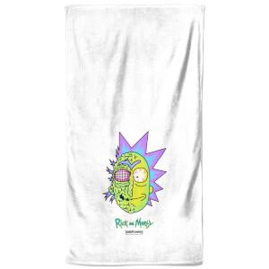 Rick and Morty Brain Head Bath Towel