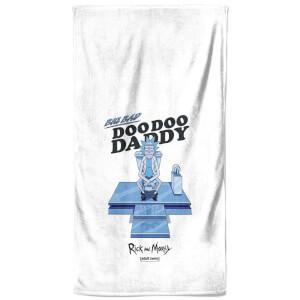 Rick and Morty Doo Doo Daddy Bath Towel
