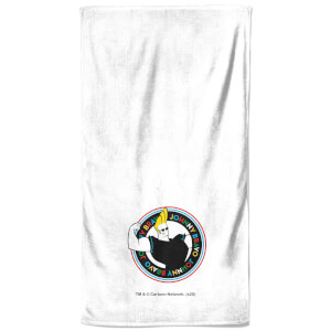 Johnny Bravo - Bathroom Towel