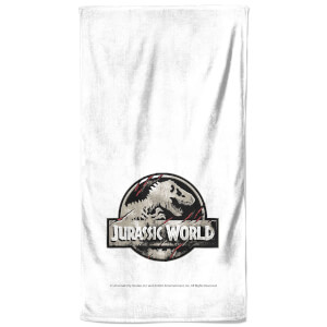 Jurassic Park Logo Bath Towel