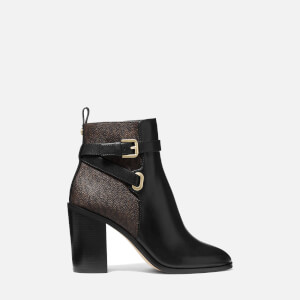MICHAEL MICHAEL KORS Women's Aldridge Heeled Boots - Black/Brown
