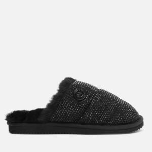 MICHAEL MICHAEL KORS Women's Janis Studded Mule Slippers - Black