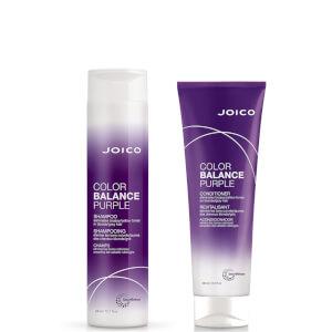 Joico Color Balance Purple Shampoo and Conditioner (2 x 300ml)
