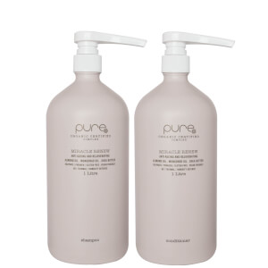 Pure Miracle Renew Supersize Shampoo and Conditioner (2 x 1000ml)