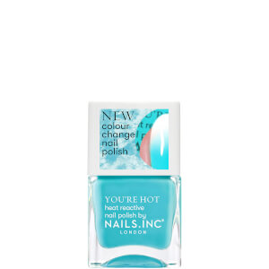 nails inc. Getting Hot in Here Thermochromic Polish