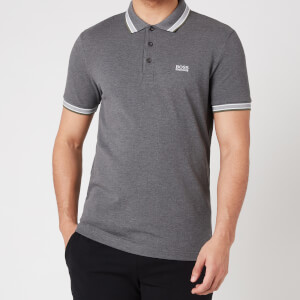 BOSS Athleisure Men's Paddy Pique Polo Shirt - Medium Grey