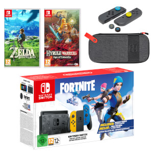 Nintendo Switch Fortnite Special Edition The Legend of Zelda Double Pack