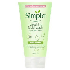 Simple Kind to Skin Face Wash Refreshing 150ml