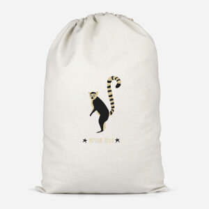 Lemur Love Cotton Storage Bag