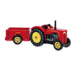 Le Toy Van Red Bertie's Tractor