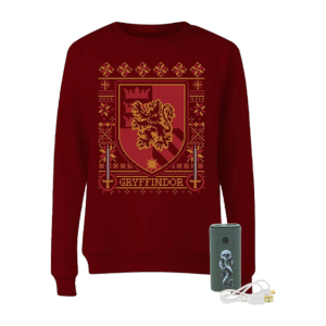 Harry Potter Sweatshirt & Charger Bundle