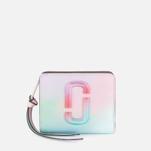 Marc Jacobs Women's Mini Compact Wallet - Green Multi