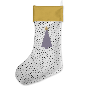 Trendy Tree Christmas Stocking
