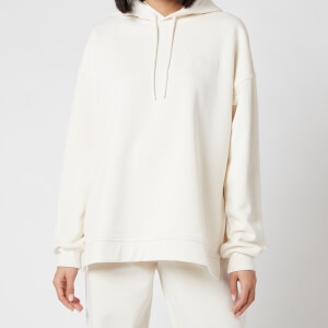 Ganni Women's Software Isoli Hooded Sweatshirt - Egret