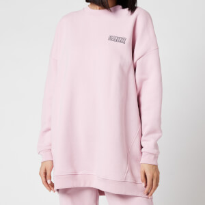 Ganni Women's Software Isoli Oversized Sweatshirt - Sweet Lilac