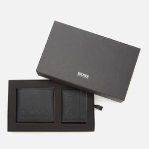 BOSS Men's Gbbm214_8 Cc S Wallet - Black