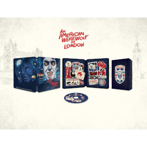 An American Werewolf in London (Le Loup-Garou de Londres) - Exclusivité Zavvi - Steelbook Blu-ray