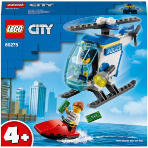 LEGO City: Police Helicopter Toy (60275)