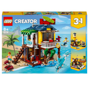 LEGO Creator: 3 in 1 Surfer Beach House Building Set (31118)